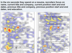 resume heat map