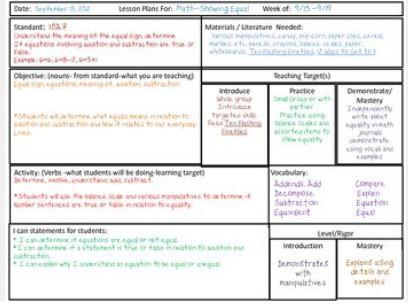 commoncoreplanningsheet