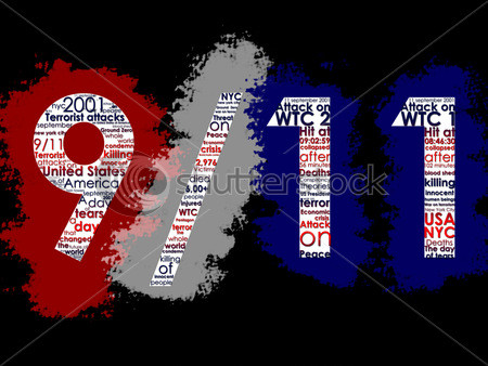 9-11 word cloud