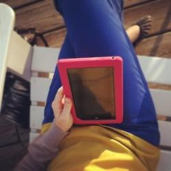 reading with ipad