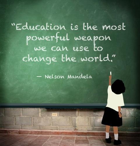 Nelson Mandela ed quote