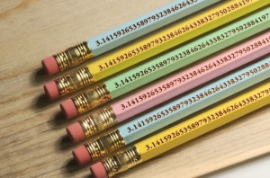 pi pencils