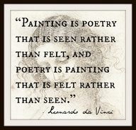 poetry davinci quote