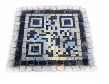 sidewalk QR Codes