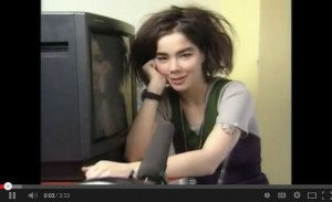 Bjork explaining TV