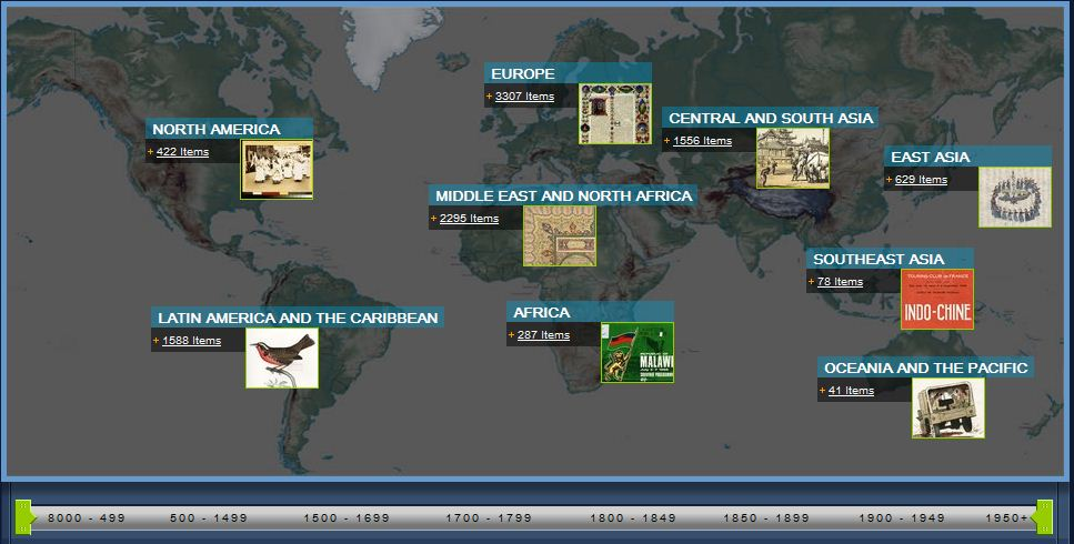 world digital library coverage area