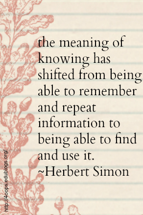 the meaning of knowing