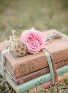 bookwithpinkflower