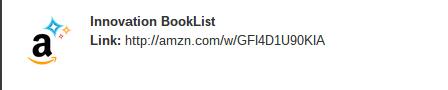 Innovation Book List