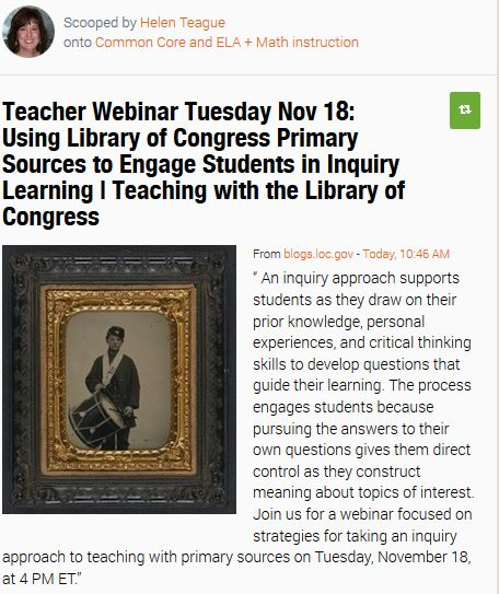 Primary Sources Webinar November 18
