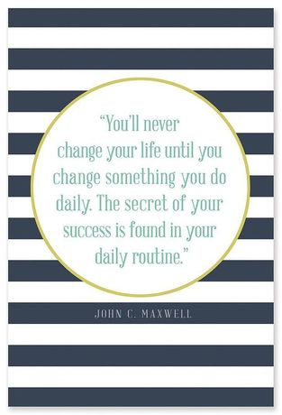 change your life John Maxwell