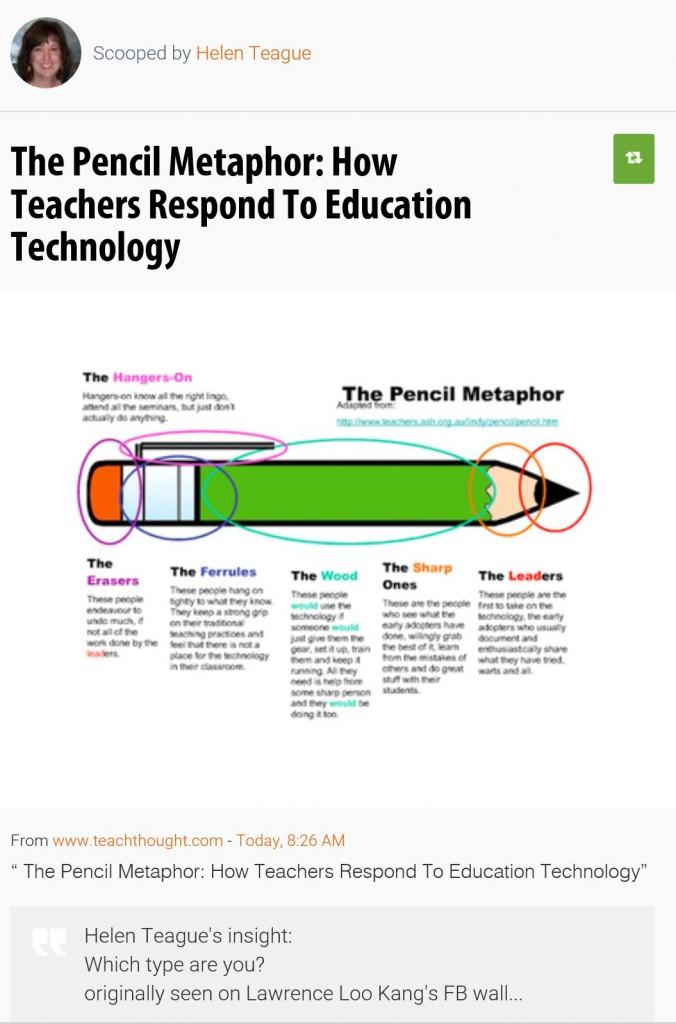 The Pencil Metaphor