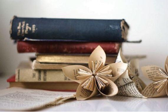 books and pinwheels