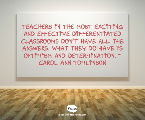 Differentiation Quote