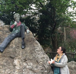 Oscar Wilde Memorial, Dublin, Ireland
