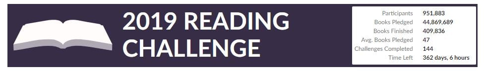 Goodreads Reading Challenge Tally