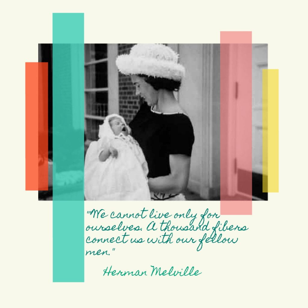 Melville Quote design by Helen Teague