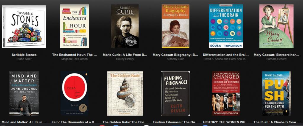 Teague Kindle Shelf