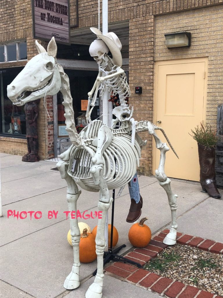 Skelton Cowboy Taken by Teague in Nocona