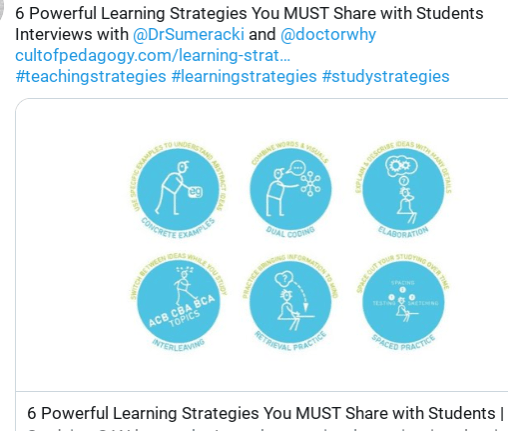 6PowerfulLearningStrategies you must share with Students