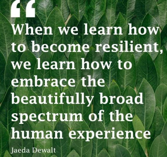Resilience by Jeada Dewalt