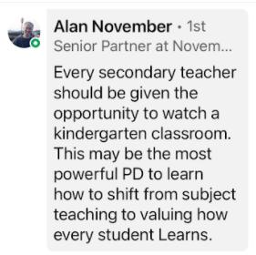 Alan November Quote