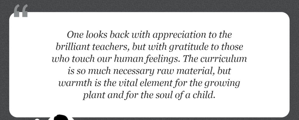 Jung Quote on Teachers