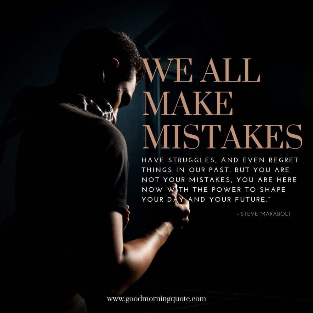 Mistakes Maraboli